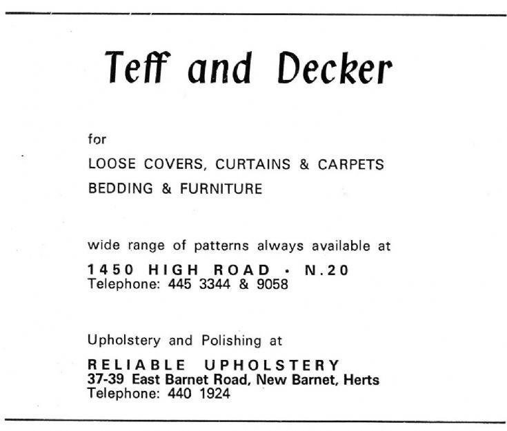 Teff & Decker