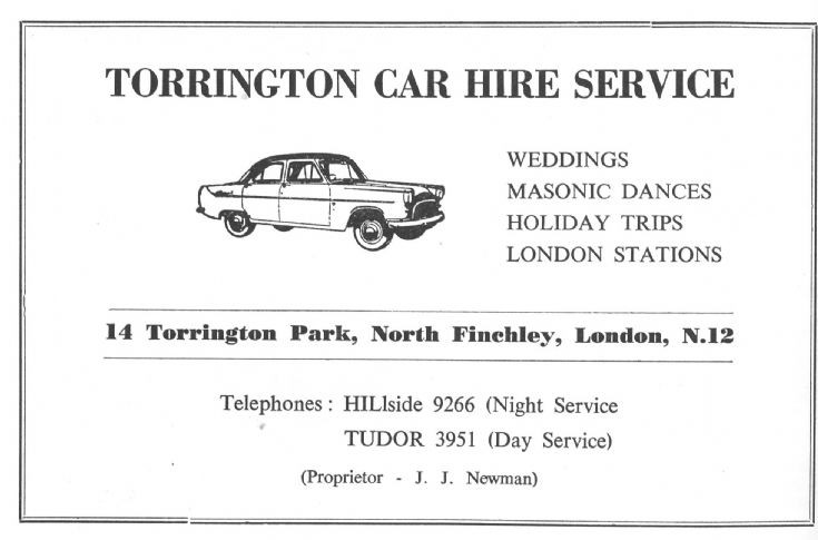 Torrington Car Hire Service Ltd