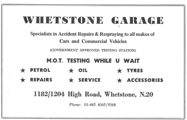 Whetstone Garage