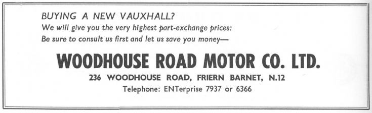 Woodhouse Road Motor Co Ltd