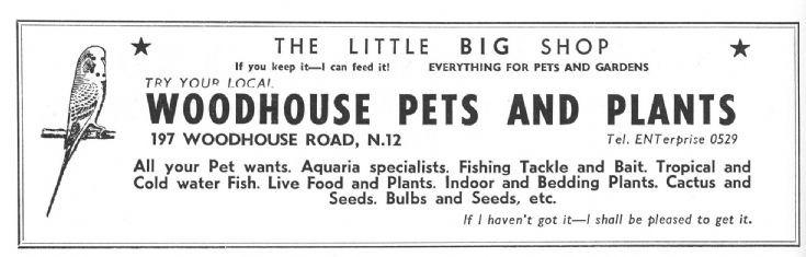 Woodhouse Pets & Plants