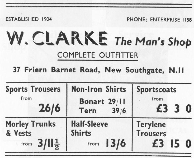 W Clarke