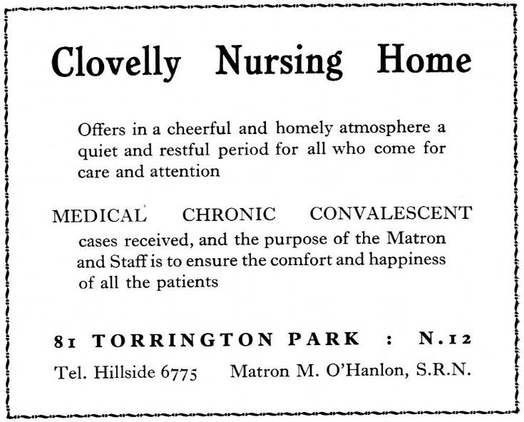 Clovelly Nursing Home
