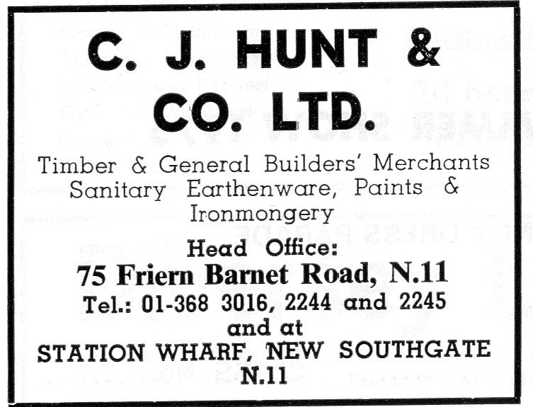 C J Hunt & Co Ltf
