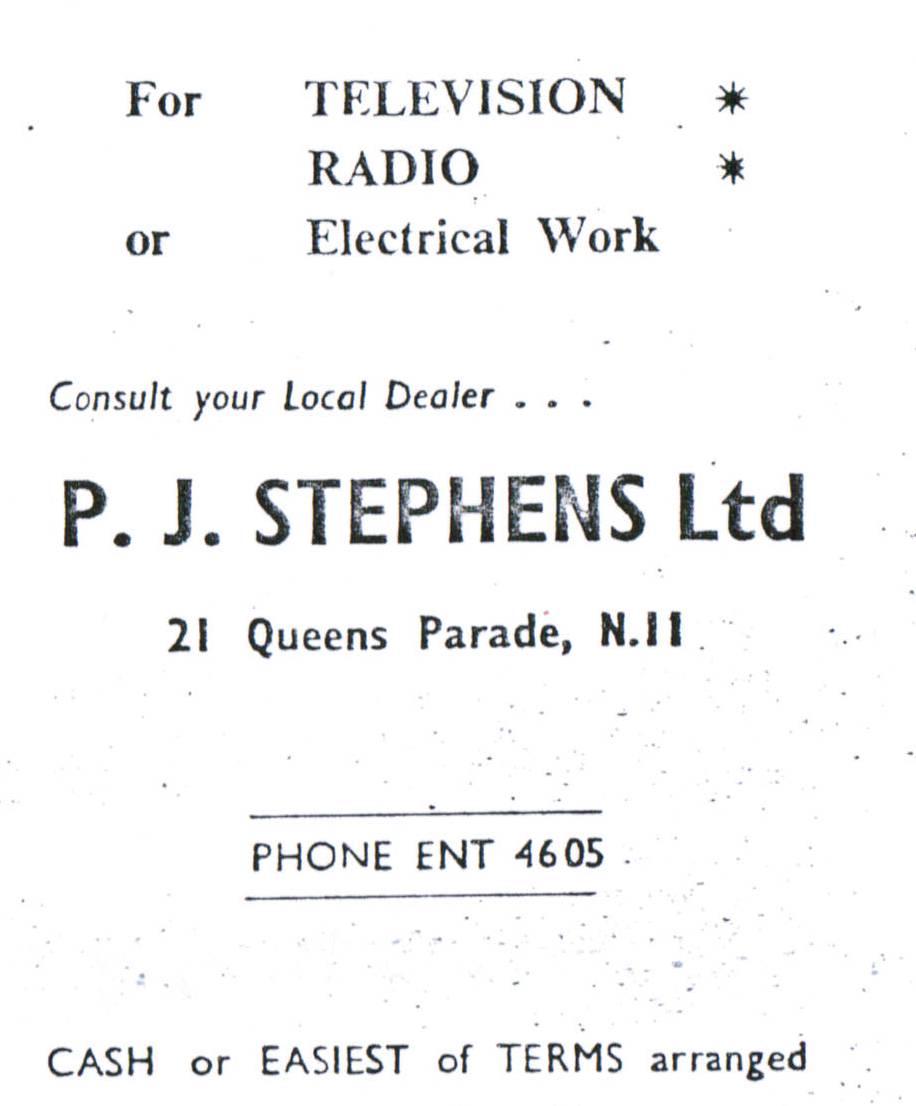 P J Stephens