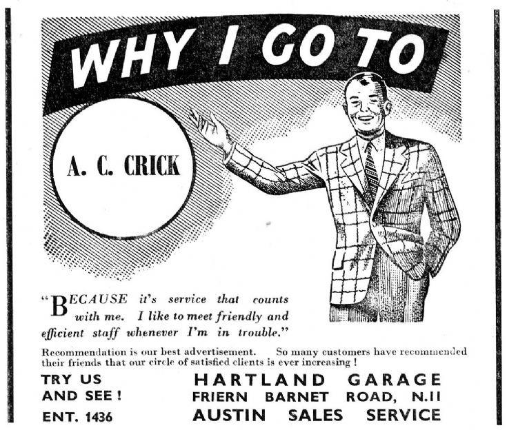 A C Crick