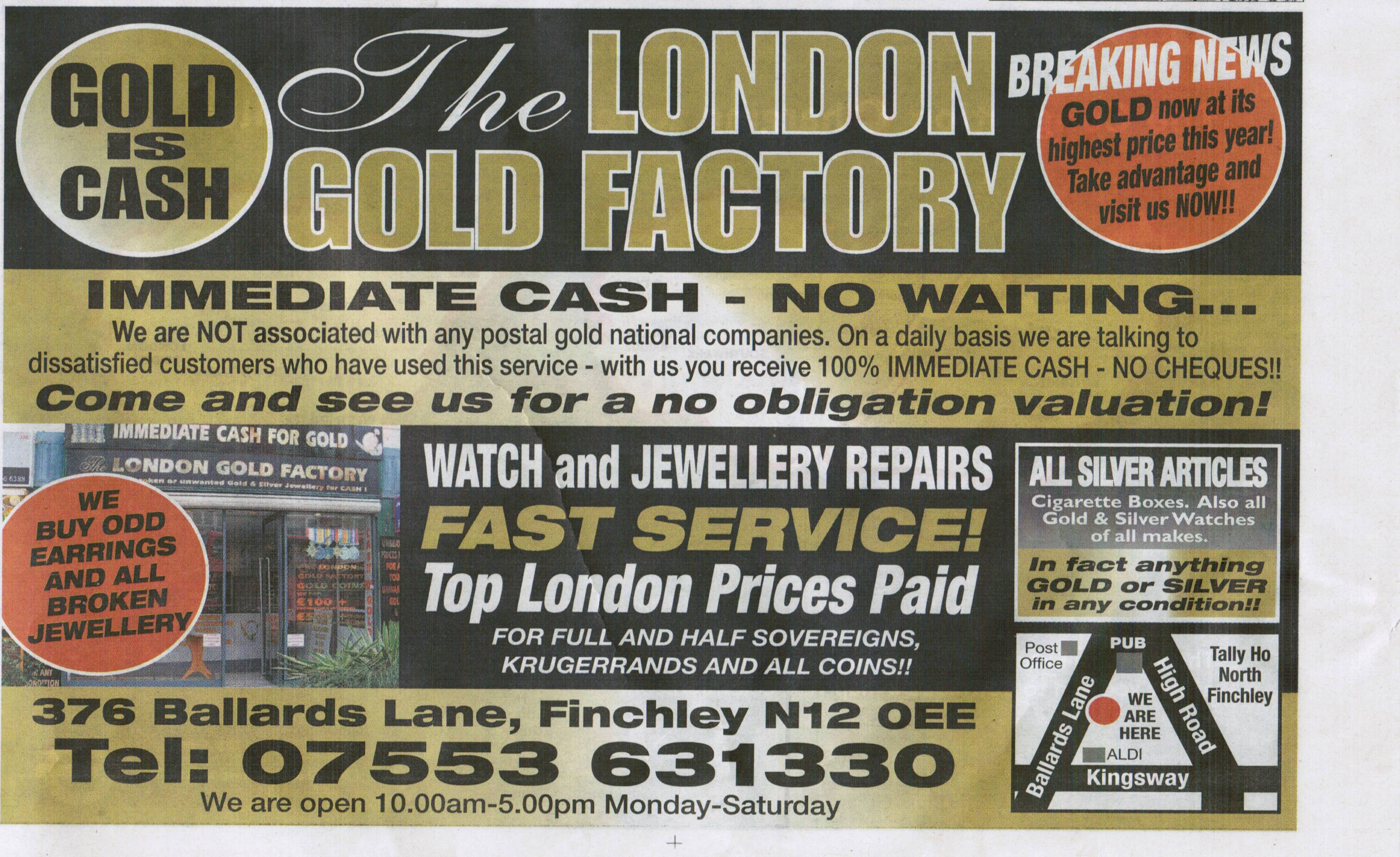 London Gold Factory
