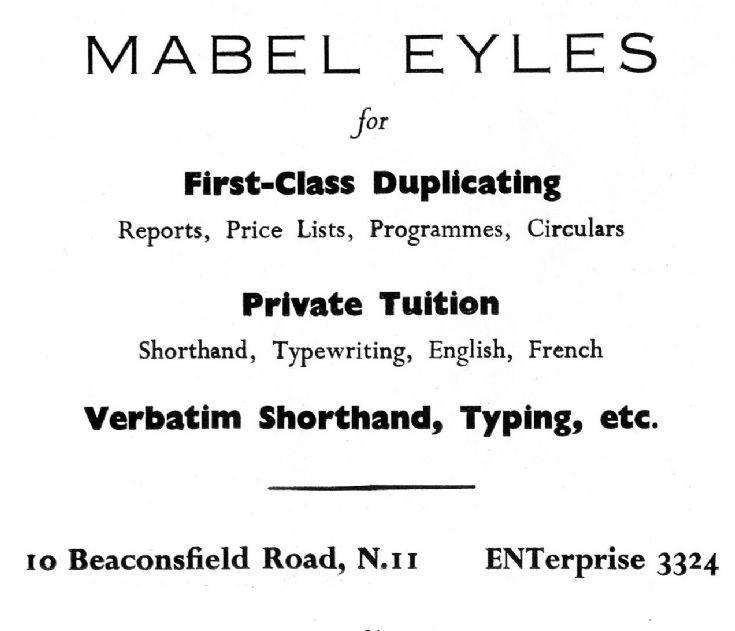 Mabel Eyles