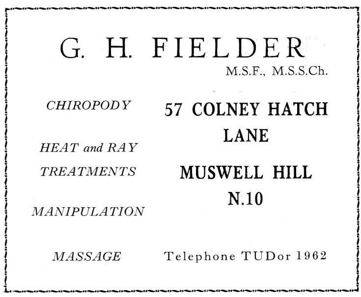 Fielder, G H