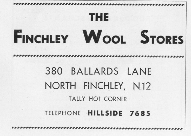 Finchley Wool Stores