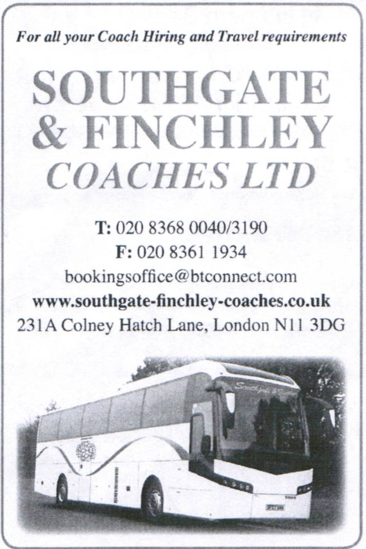 Southgate & Finchley Coaches
