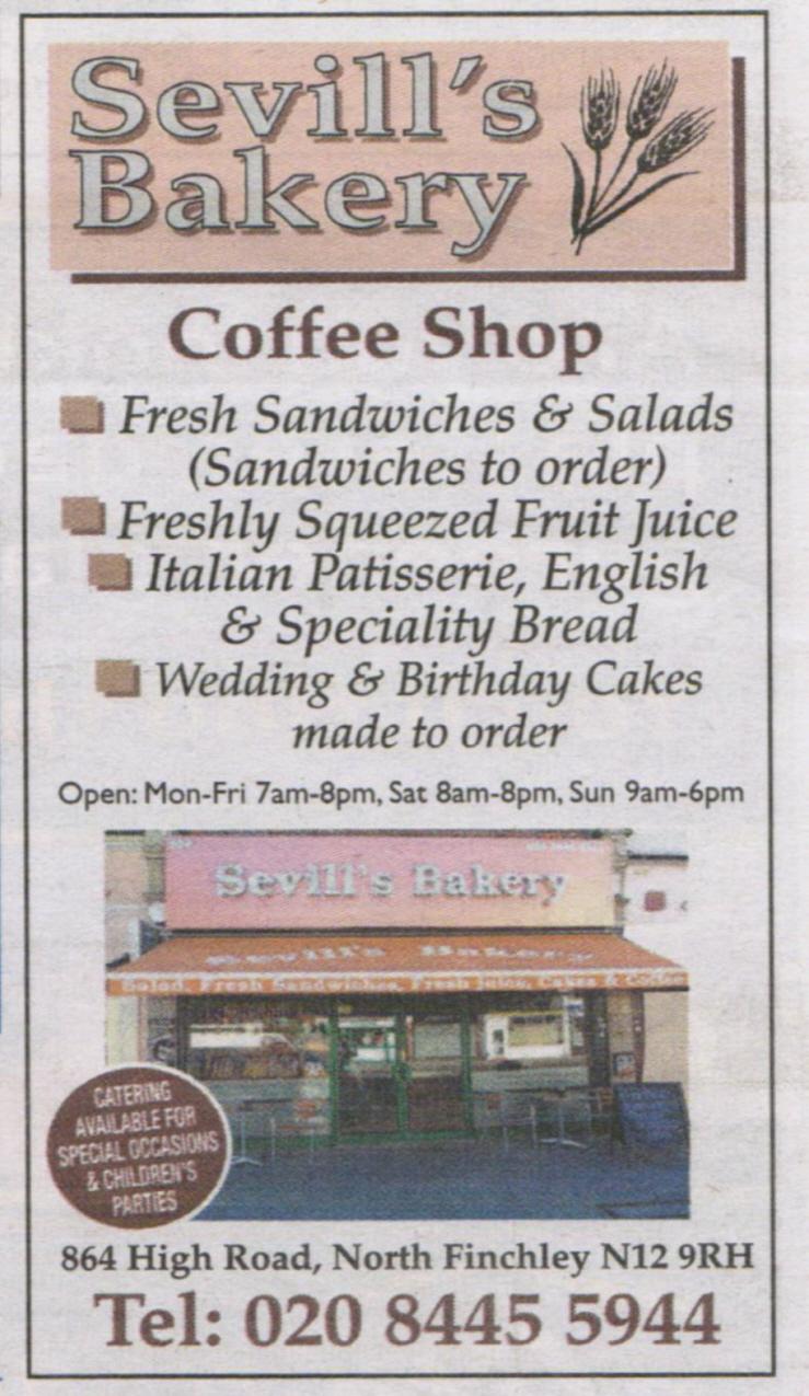 Sevill's Bakery
