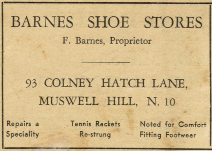 Barnes Shoe Stores