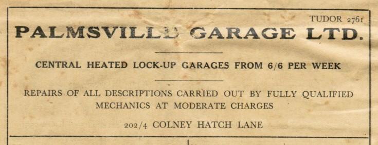 Palmsville Garage