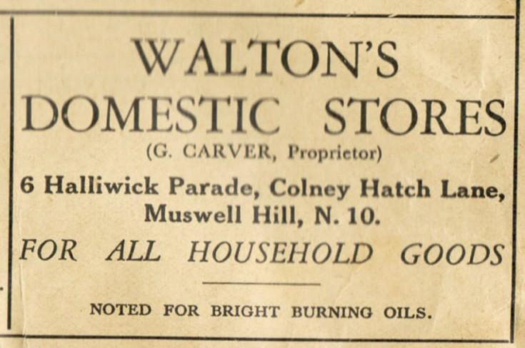 Walton's Domestic Stores
