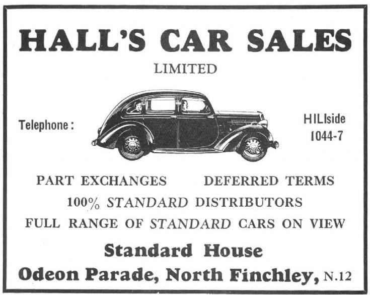 Hall's Car Sales