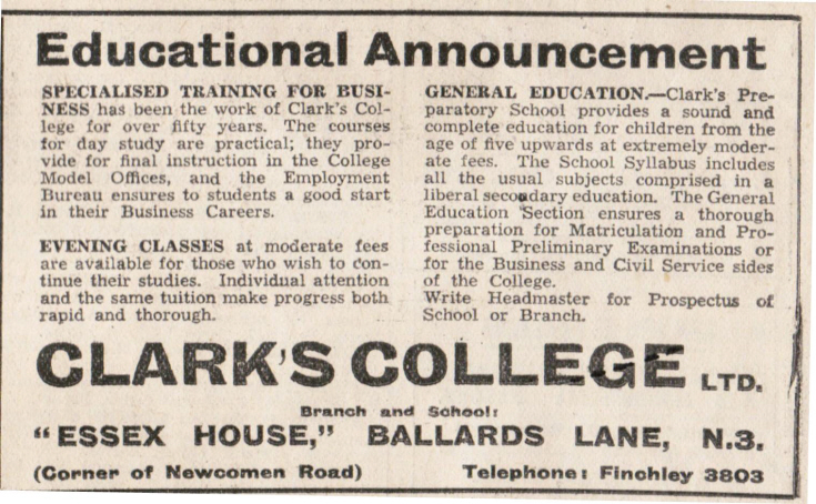 Clark's College