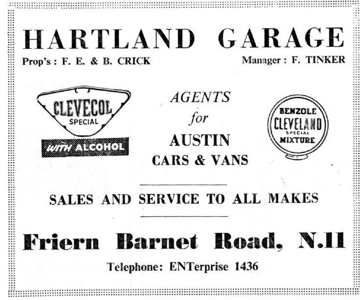 Hartland Garage