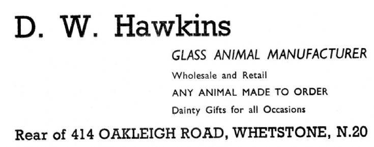 D W Hawkins