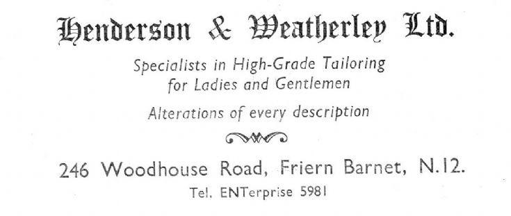 Henderson & Weatherley