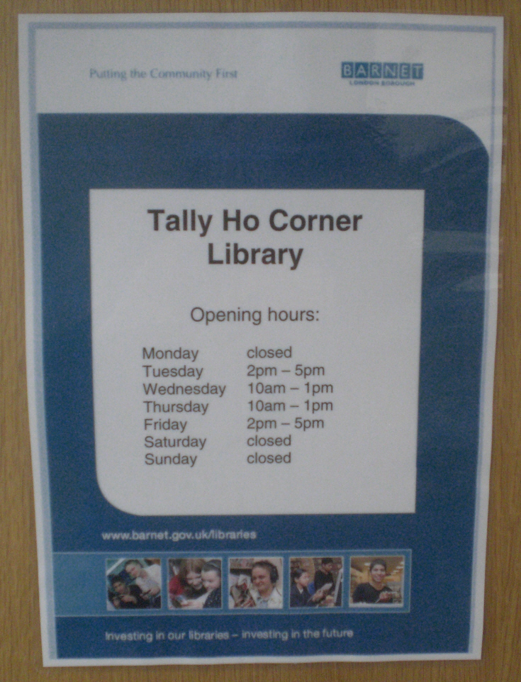 Tally Ho Corner Library