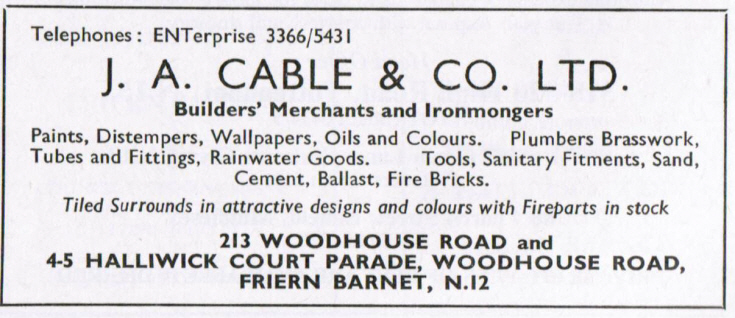 J A Cable & Co Ltd