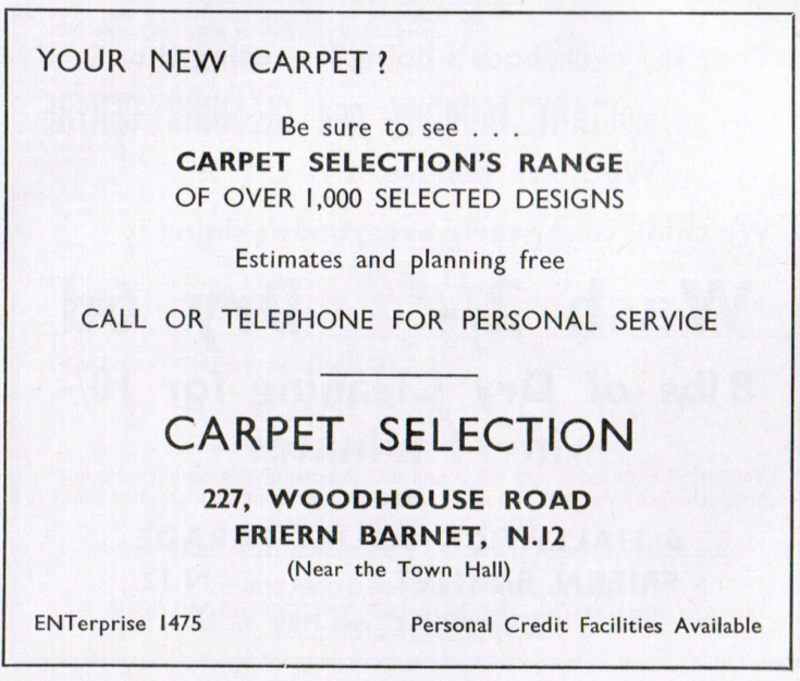 Carpet Selection