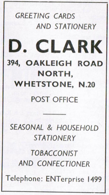 D Clark