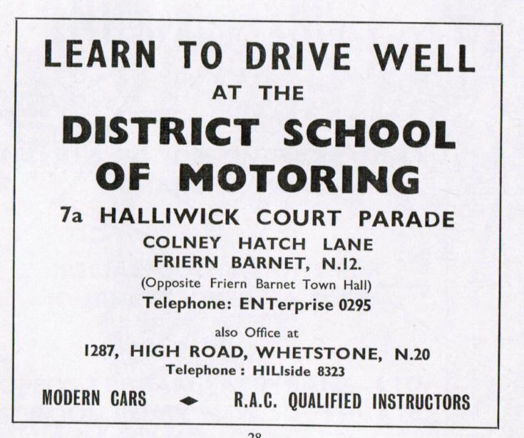 District School of Motoring