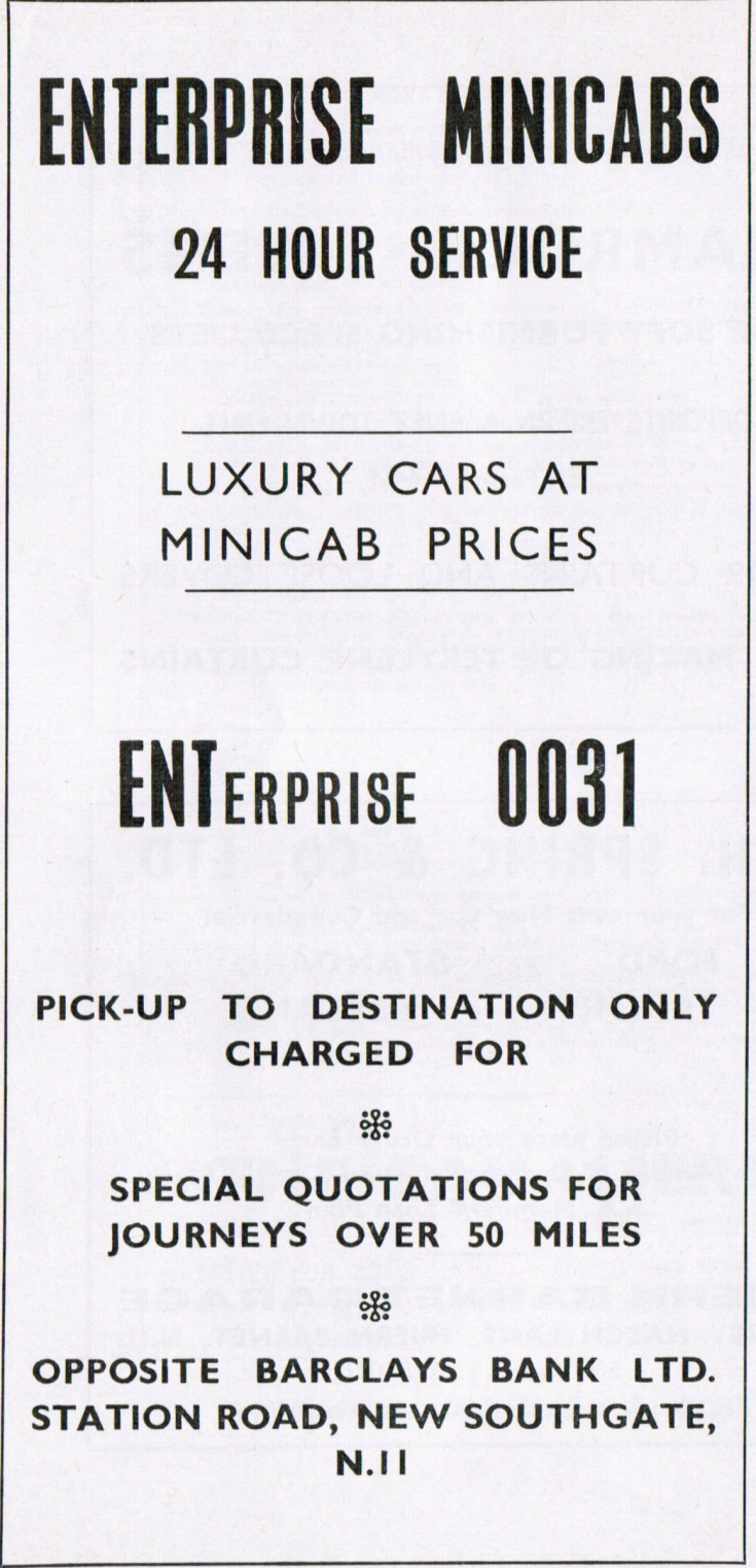 Enterprise Minicabs