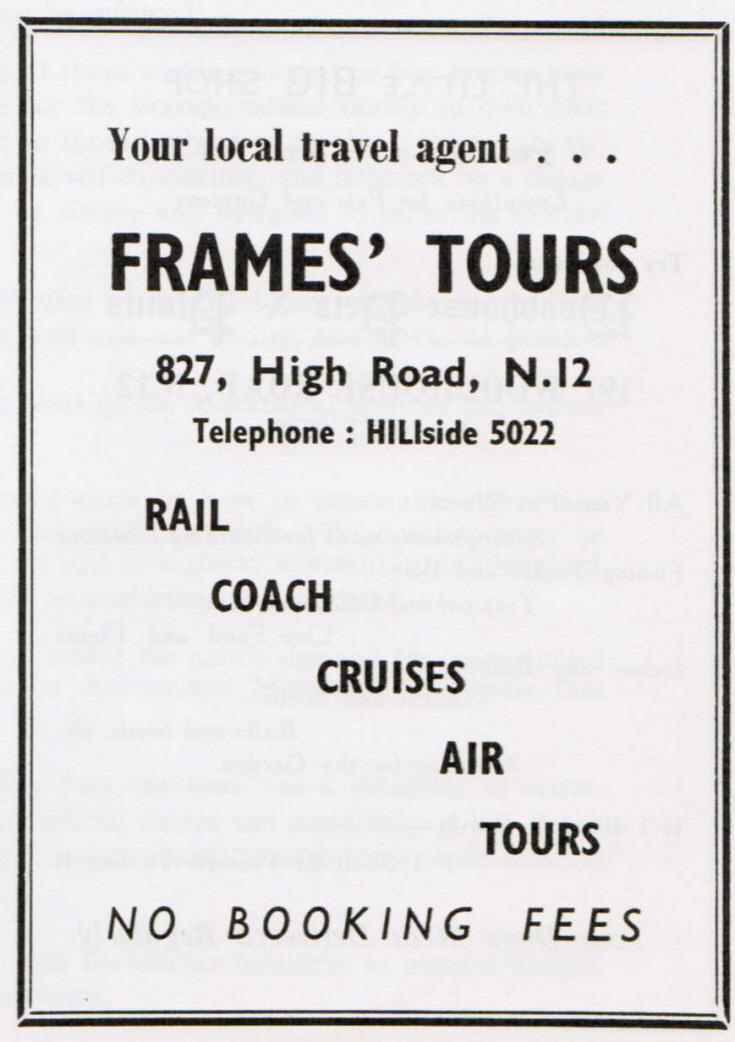 Frames' Tours