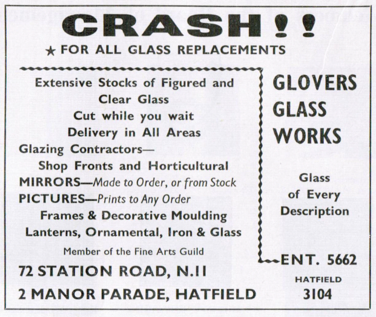 Glovers Glass Works
