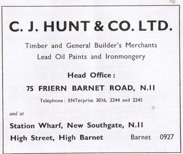C J Hunt & Co Ltd