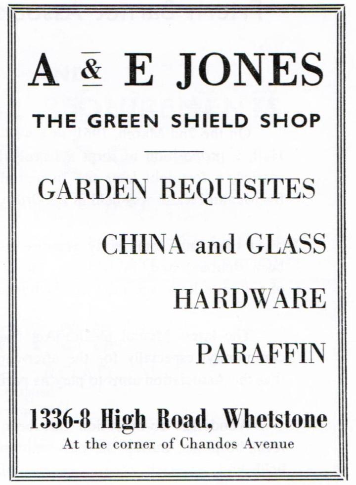 A & E Jones