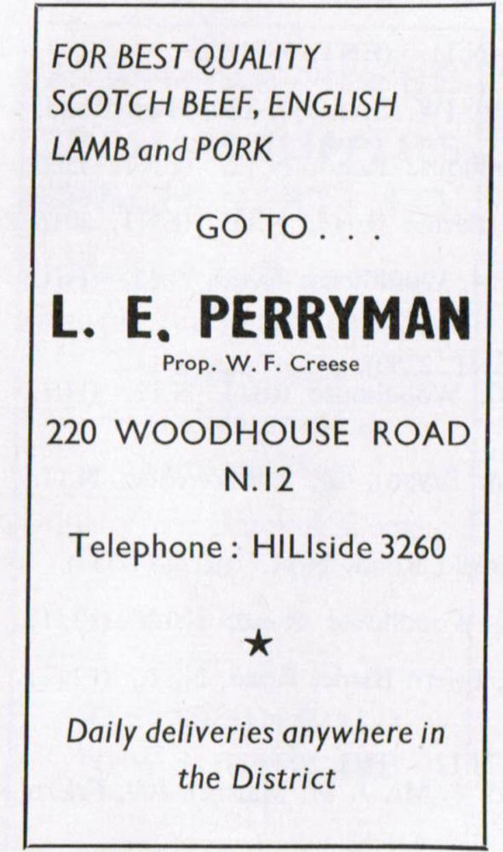 L E Perryman