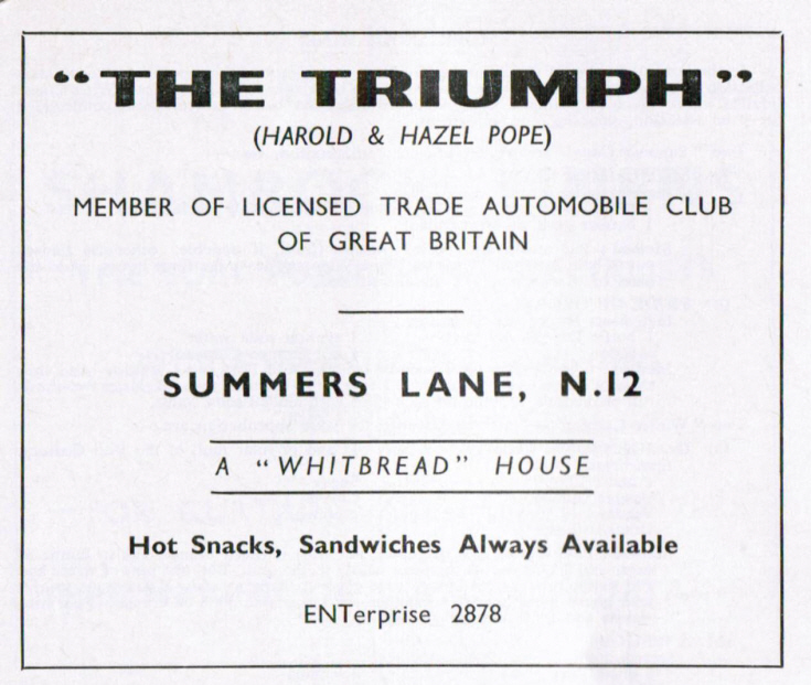 The Triumph pub