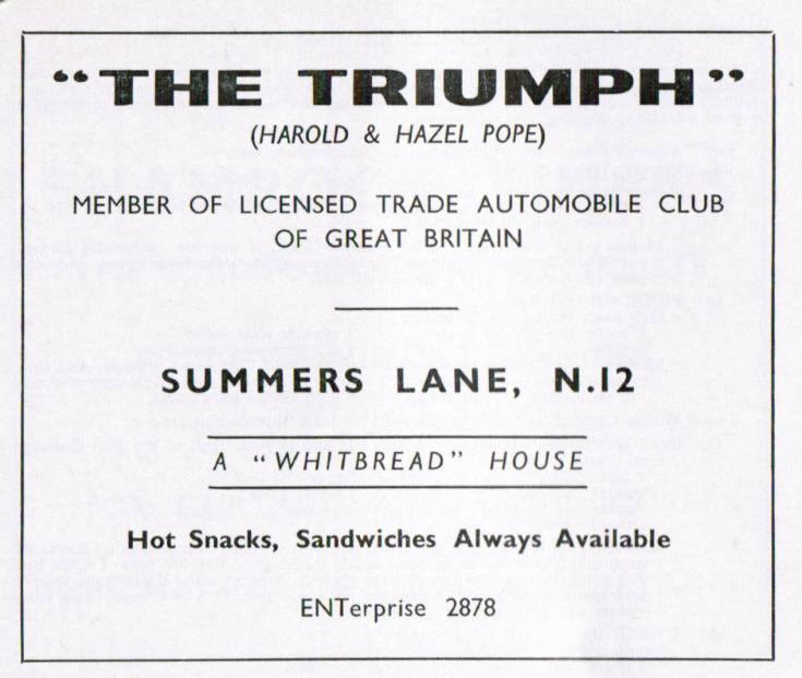 The Triumph pub