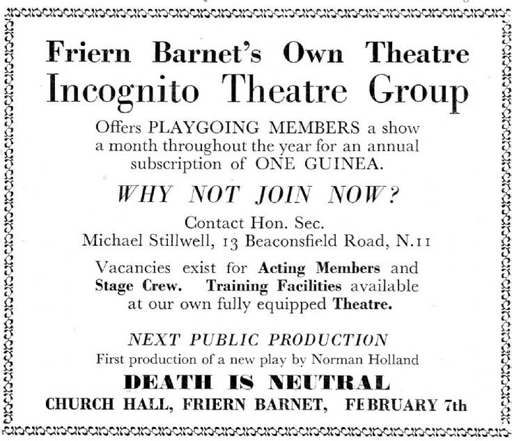 Incognito Theatre Group