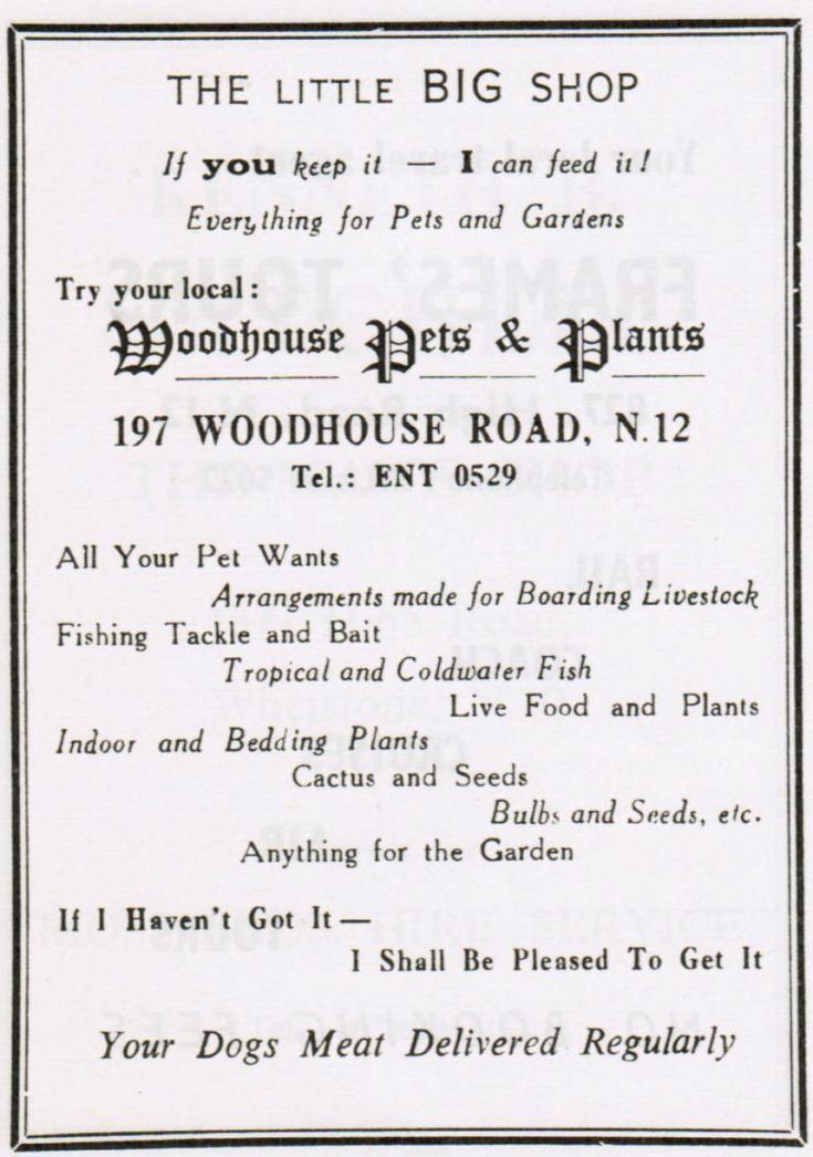Woodhouse Pets & Plants