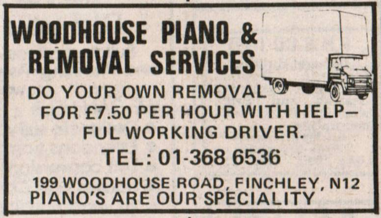 Woodhouse Piano & Removal Services
