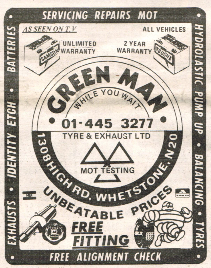 Green Man Garage