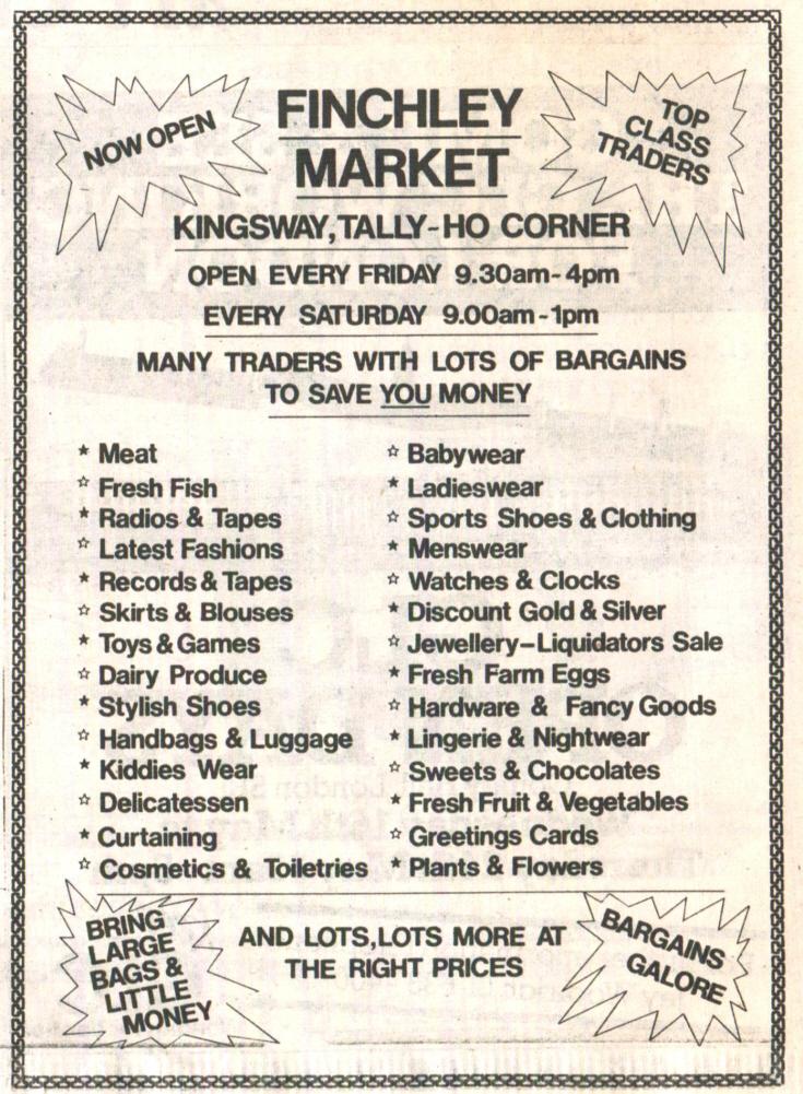 Finchley Market