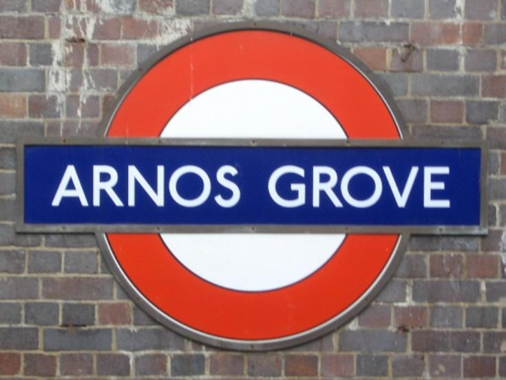 Arnos Grove Underground Ststion