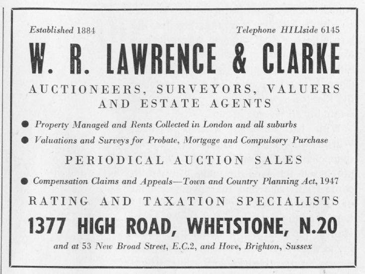 W R Lawrence & Clarke