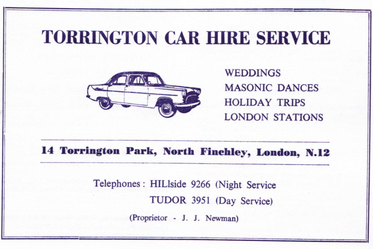 Torrington Car Hire Service