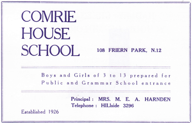 Comrie House School