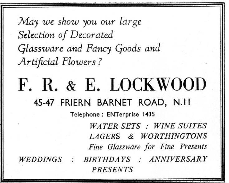 F R & E Lockwood