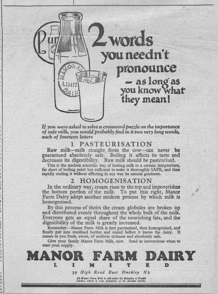 Manor Farm Dairy