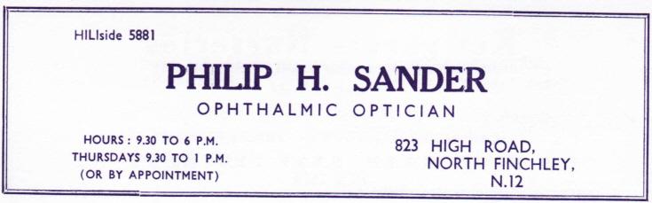 Philip H Sander