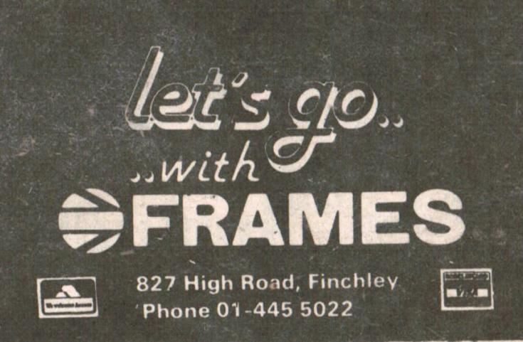 Frames Tours